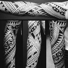 Great Tribal Pattern Tattoo Designs 32 On Old School With