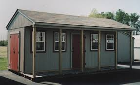 12 x 20 Ranch Portable Building CU 3 Portable Buildings Inc