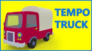 Tempo Truck Kids Video | Trucks For Children - YouTube