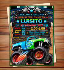 Monster Truck Party Invitation Monster Truck Party Digital | Etsy Pit Party Monster Jam Houston 2 12 2017 Youtube Truck Favor Tags Forever Fab Boutique Birthday Check Out This Cool Monster Truck Boy Birthday Party Favor Bags Invitations Marvelous Inside Awesome 50 Unique Club Pack Of 96 Mudslinger Plastic Loot Bags Invitation Etsy Monster Truck Food Labels Its Fun 4 Me 5th Sign Krown