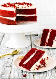 eggless velvet cake