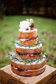 Naked Wedding Cakes Are Increasingly Popular When Decorated Right They Fit Any Style Read More For Great Cake Ideas