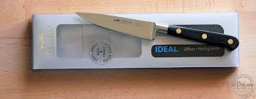 couteau cuisine sabatier sabatier couteau d office ideal inox la coutellerie des chefs