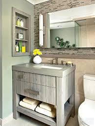 small bathroom cabinet ideasgorgeously grounded tiny bathroom
