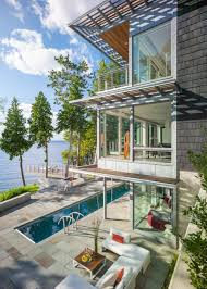 100 Modern Lake House With Industrial Detail DIY Network