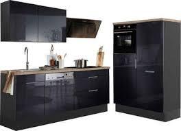 optifit küchenzeile tara ohne e geräte mit vollauszug und soft funktion breite 320 cm