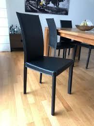 8 stühle pfister salpa schwarz kaufen auf ricardo