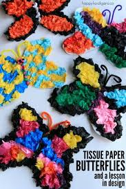 Kids Will Love Making Butterflies With This Classic Tissue Paper Art Process What A Fun Way For Toddlers Preschoolers AND Big To Get Arty In