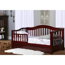 Babyhome Bed Rail by Dream On Me Toddler Day Bed With Storage Drawer Cherry Toys