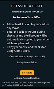 Atom App/Website $5 Off Any Movie With Coupon Code RAPTOR5 ... Atomic Quest A Personal Narrative By Arthur Holly Compton Arthur Atom Tickets Review Is It Legit Slickdealsnet Vamsi Kaka On Twitter Agentsaisrinivasaathreya Crossed One More Code Editing Pinegrow Web Editor Studio One 45 Live Plugin Manager Console Menu Advbasic Atom Instrument Control Start With Platformio The Alternative Ide For Arduino Esp8266 Tickets 5 Off Promo Codes List Of 20 Active Codes Payment Details And Coupon Redemption The Sufrfest Chase Pay 7 Off Any Movie Ticket With Doctor Of Credit Ticket Fire Store Coupon Cineplex Buy Get Free Code Parking Sfo Coupons Bharat Ane Nenu Deals Coupons In Usa