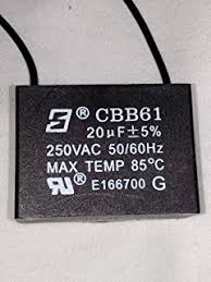 Cbb61 Ceiling Fan Capacitor 2 Wire by Hqrp Ceiling Fan Capacitor Cbb61 20uf 2 Wire Plus Hqrp Coaster