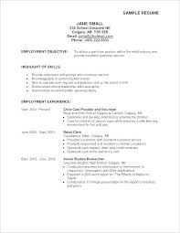 General Job Objective For Resume Objectives Resumes Examples Sample Career New Example Obje