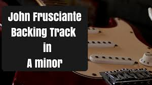 This Is My 5th Jam Track Called Backing In A Minor John Frusciante Figure 8 Lick Red Hot Chili Peppers Style