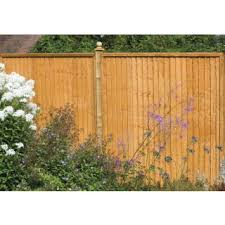 Decorative Garden Fence Posts by Best 25 Close Board Fencing Ideas On Pinterest Decorative