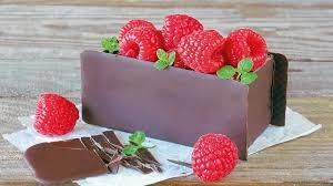 rezept für schokoladen himbeer schnitten