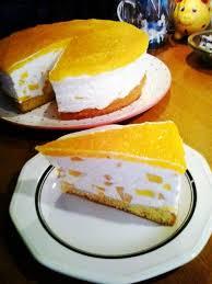 pfirsich joghurt topfen sahne torte rezept leckere