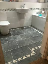 Galvano Charcoal Tile Bathroom by Shop Style Selections Galvano Charcoal Glazed Porcelain Indoor