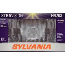 more downroad vision sylvania h4703 xtravision headlight bulb