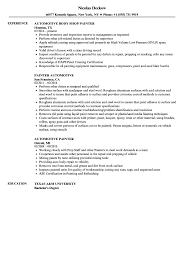 Automotive Painter Resume Samples | Velvet Jobs Teacher Sample Resume Luxury 20 For Teaching Commercial Painter Guide 12 Samples Pdf 20 Rn New Awesome Pating Resume Format Download Pdf Break Up Us Helper Velvet Jobs Personal Statement A Good Industrial Job Description Main Image Rsum How To Make Cv Template Lovely Making Free Auto Body Summary For Kcdrwebshop Unique Objective Mechanical Engineers Atclgrain Automotive