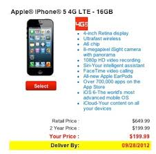 AT&T Verizon now out of iPhone 5 too