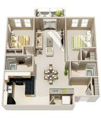 Two Bedroom Two Bath Floor Plan With optimal health often es