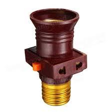 e27 base light holder convert to switch l bulb socket