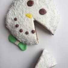 gâteau bonhomme de neige mousse chocolat