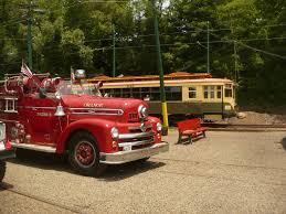 100 Fire Trucks Unlimited Truck Show The Shore Line Trolley Museum Operated By The