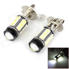 h3 4 8w 350lm 15 smd 5050 led 1 led bulb white car foglight 12v