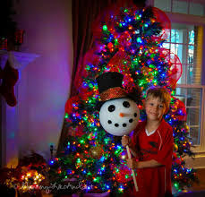 Frosty Snowman Christmas Tree by How To Make A Snowman Tree Topper Artist Stephanie Weaver