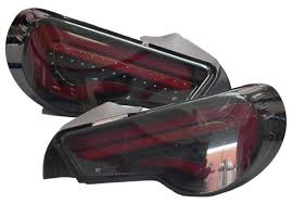 Scion Frs Red Floor Mats by Smoked Lens With Red Light Bar Valenti Led Tail Lights For 2012 15