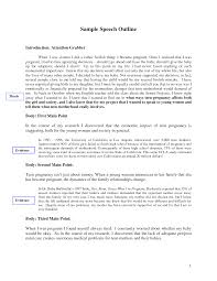 Best s of Sample Introduction Speech Outline For