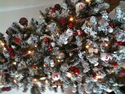 Thomas Kinkade Christmas Tree Uk by Christmas Tree Lights For Sale Uk Ft Frosted Finley Pre Lit Led