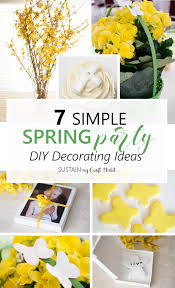 10 Creative Spring Party Ideas