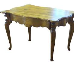 French Provincial Dining Table Oak Walnut Cherry