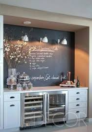 Coffee Station W Chalkboard More