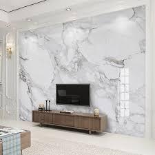 nach 3d wandbild tapete high definition sir weiß marmor wand tuch wohnzimmer sofa tv hintergrund wand wohnkultur fresko