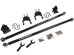 2017 F250 & F350 BDS Recoil Traction Bars & Mount Kit For 0-6