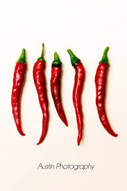 Hot Red Peppers Print Chili Food Photography Kitchen Art Decor