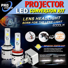 led headlight bulbs projector lens conversion kit upgrade for