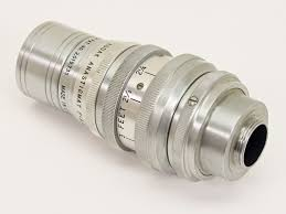 Desiccator Cabinet For Camera by Kodak Anastigmat F 3 5 50mm S Mount Movie Camera Lens As Is For