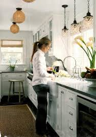 kitchen lights the sink pendant light distance from wall