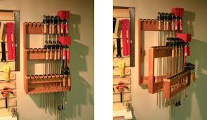 space saving bar clamp racks woodwork city free woodworking plans