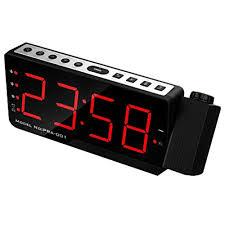 wecker radiowecker fm radio für schlafzimmer bürotisch led
