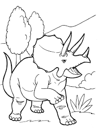 Free Dinosaur Coloring Pages For You Image 45