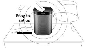 Sonos Ceiling Speakers Bathroom by Play 1 U2014 Mini But Mighty Home Speaker Sonos