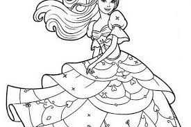 Barbie Print Out Coloring Pages 429683 For Free 2015