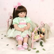 AliExpress Bebes Reborn Doll 47cm Soft Silicone Reborn Toddler Baby
