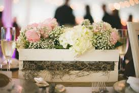Rustic Table Decorations Woods Wedding