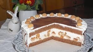 rezept für amaretto sahne torte
